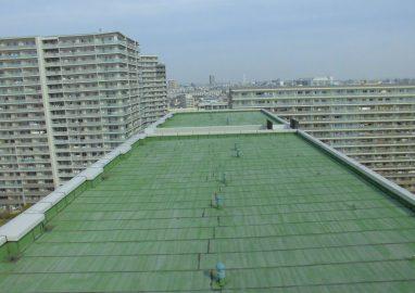 ロイヤルパークス西新井屋上防水工事