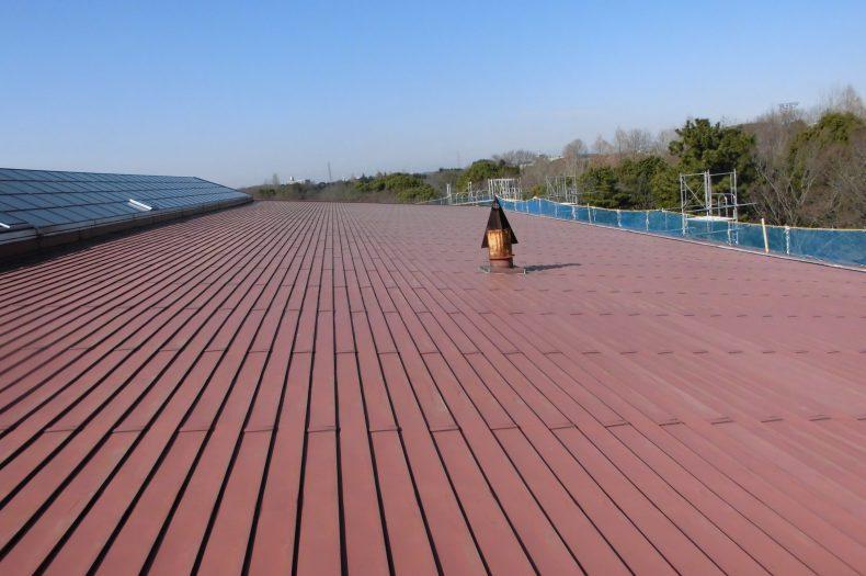 柏の葉公園コミュニティ体育館改修工事