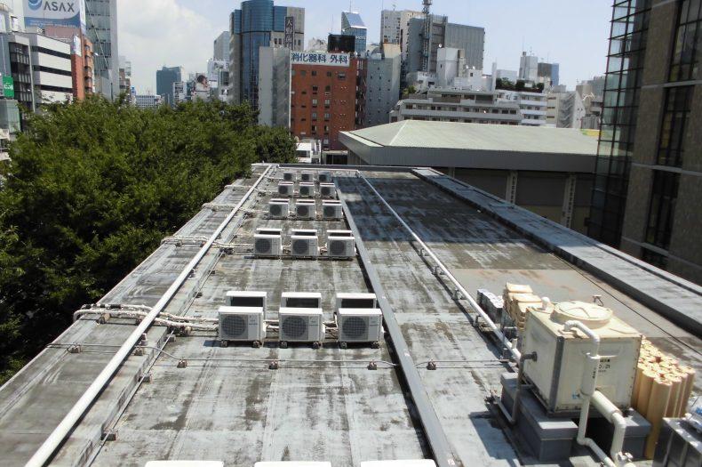 青山学院大学7号館防水改修工事