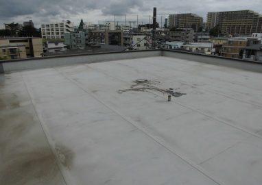 柏明原住宅屋上防水工事