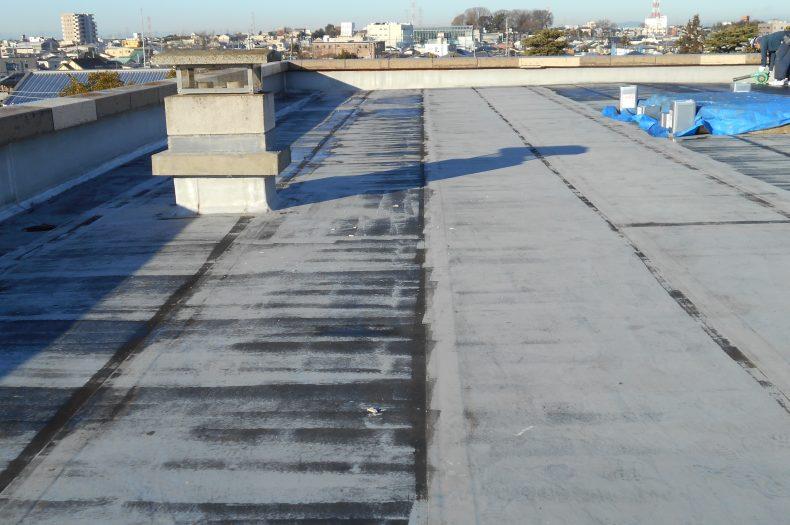 下館第一高校特別教室棟屋上防水改修工事