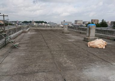柏市立豊小学校校舎外壁及び屋上防水工事