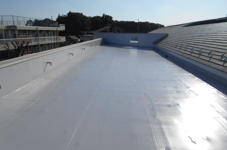南部老人福祉センター外壁塗装及び屋上防水改修工事