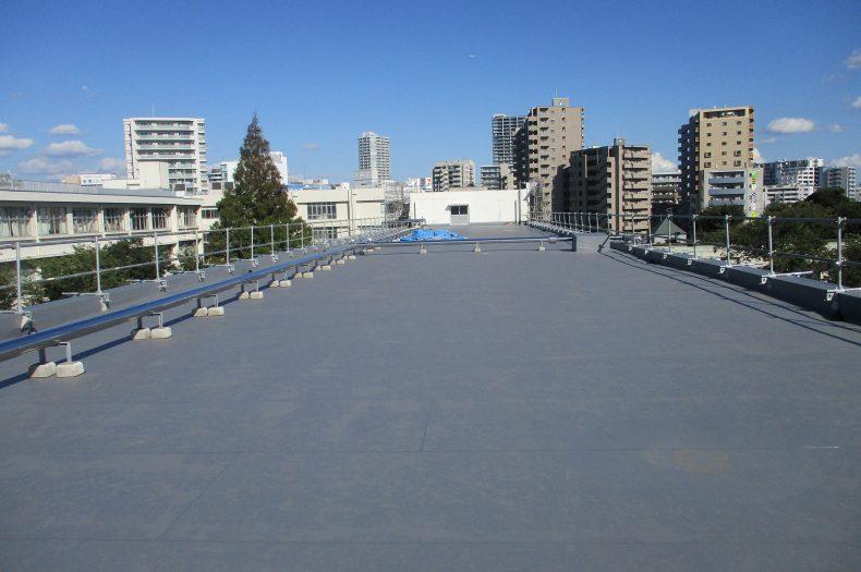 千葉県立東葛高等学校校舎屋上防水改修他工事
