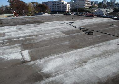 谷川第二マンション屋上防水工事