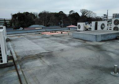 Kビル屋上防水改修工事