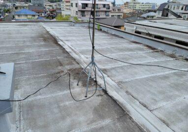 ホーユウコンフォルト水戸白梅西側棟屋上防水工事